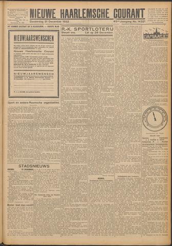Nieuwe Haarlemsche Courant 1922-12-21