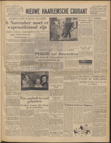 Nieuwe Haarlemsche Courant 1951-10-05