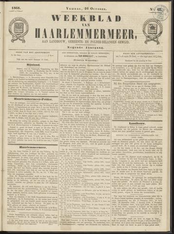 Weekblad van Haarlemmermeer 1868-10-16