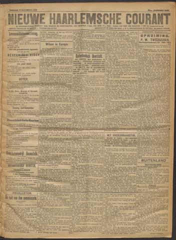 Nieuwe Haarlemsche Courant 1918-12-17