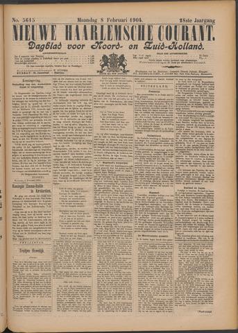 Nieuwe Haarlemsche Courant 1904-02-08