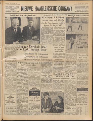 Nieuwe Haarlemsche Courant 1961-01-20