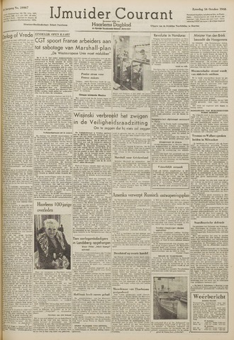IJmuider Courant 1948-10-16