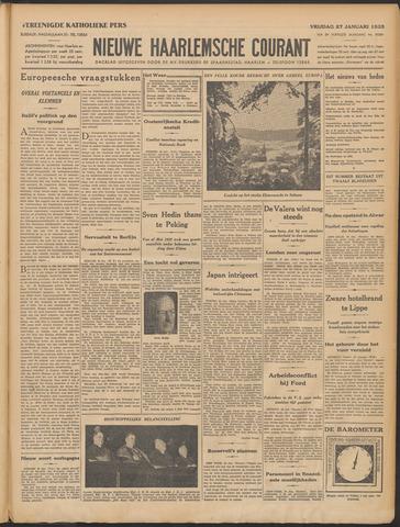 Nieuwe Haarlemsche Courant 1933-01-27