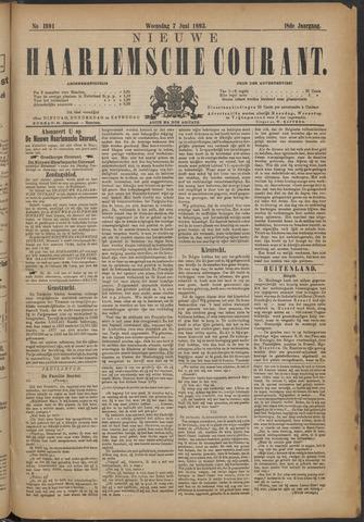 Nieuwe Haarlemsche Courant 1893-06-07