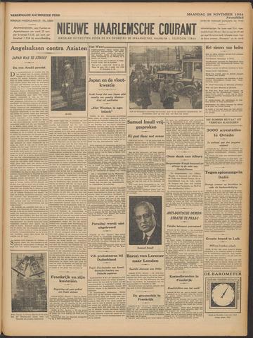 Nieuwe Haarlemsche Courant 1934-11-26