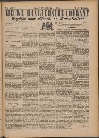 Nieuwe Haarlemsche Courant 1904-02-12