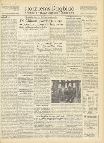 Haarlem's Dagblad 1954-01-20