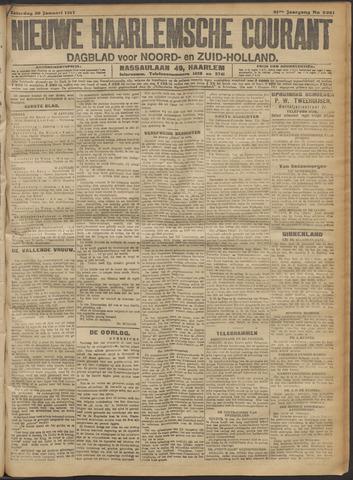 Nieuwe Haarlemsche Courant 1917-01-20