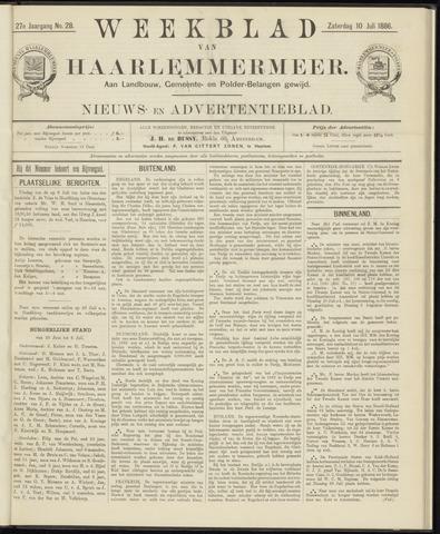 Weekblad van Haarlemmermeer 1886-07-10