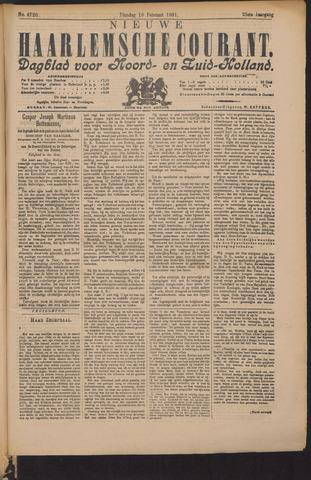 Nieuwe Haarlemsche Courant 1901-02-19