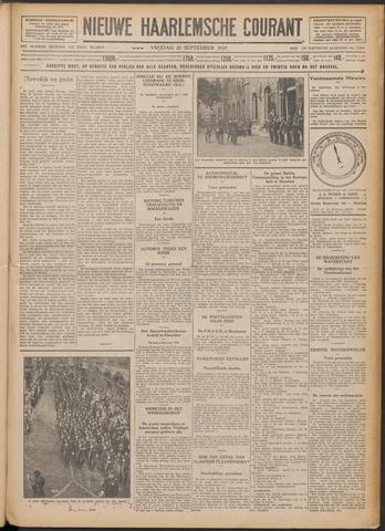 Nieuwe Haarlemsche Courant 1929-09-20
