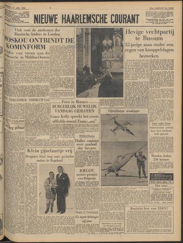 Nieuwe Haarlemsche Courant 1956-04-18