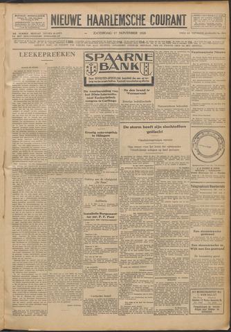 Nieuwe Haarlemsche Courant 1928-11-17