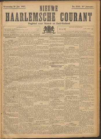 Nieuwe Haarlemsche Courant 1907-01-30
