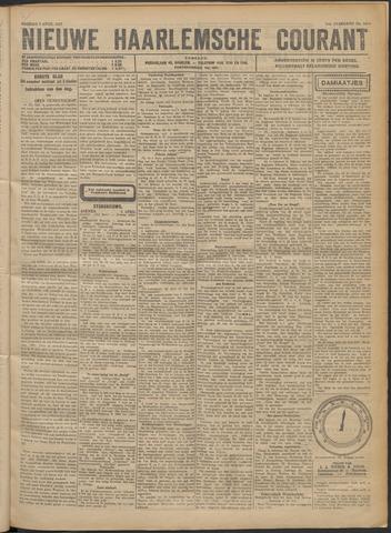 Nieuwe Haarlemsche Courant 1922-04-07