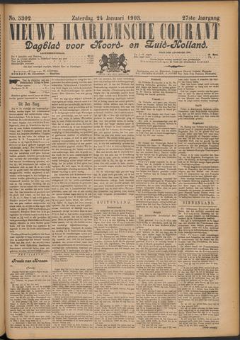 Nieuwe Haarlemsche Courant 1903-01-24