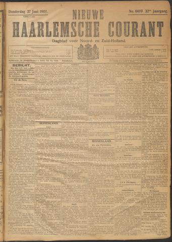 Nieuwe Haarlemsche Courant 1907-06-27
