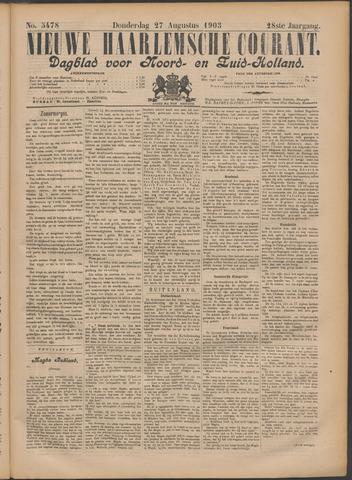 Nieuwe Haarlemsche Courant 1903-08-27