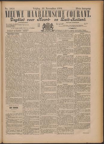 Nieuwe Haarlemsche Courant 1904-11-18