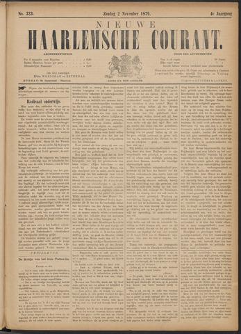 Nieuwe Haarlemsche Courant 1879-11-02