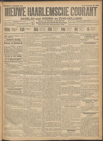 Nieuwe Haarlemsche Courant 1912-10-07