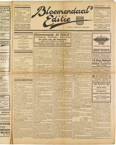 Bloemendaal's Editie 1927-10-22