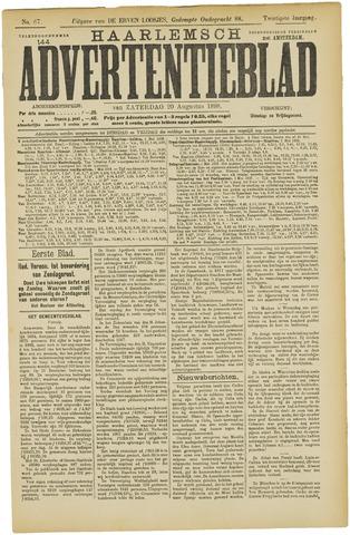 Haarlemsch Advertentieblad 1898-08-20