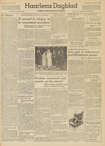 Haarlem's Dagblad 1950-01-05