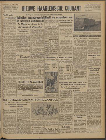 Nieuwe Haarlemsche Courant 1948-04-22