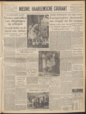 Nieuwe Haarlemsche Courant 1958-05-01