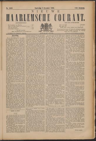 Nieuwe Haarlemsche Courant 1886-12-09