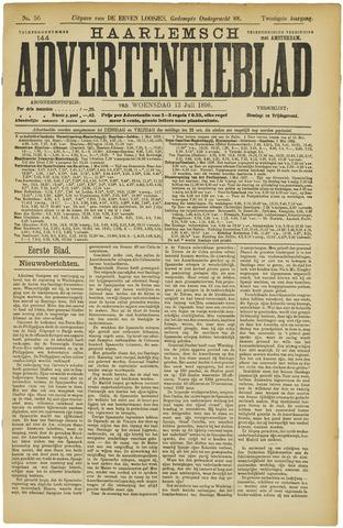 Haarlemsch Advertentieblad 1898-07-13