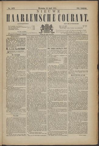 Nieuwe Haarlemsche Courant 1891-04-29