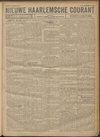 Nieuwe Haarlemsche Courant 1921-01-11