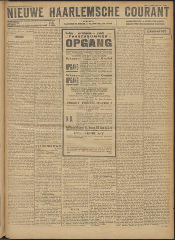 Nieuwe Haarlemsche Courant 1921-03-26