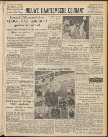 Nieuwe Haarlemsche Courant 1954-10-28