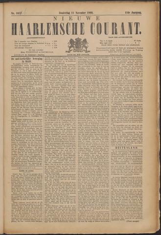 Nieuwe Haarlemsche Courant 1886-11-11