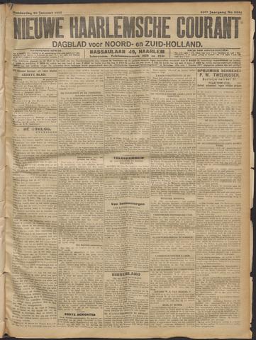 Nieuwe Haarlemsche Courant 1917-01-25