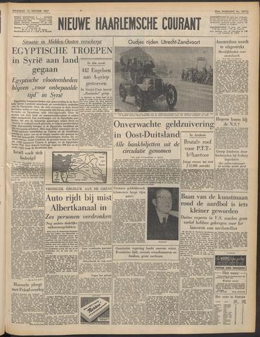 Nieuwe Haarlemsche Courant 1957-10-14