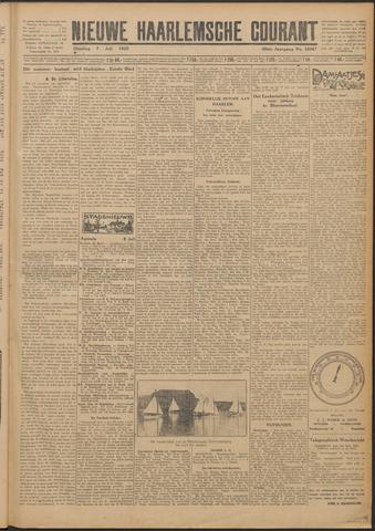 Nieuwe Haarlemsche Courant 1925-07-07