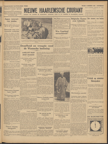 Nieuwe Haarlemsche Courant 1938-11-04