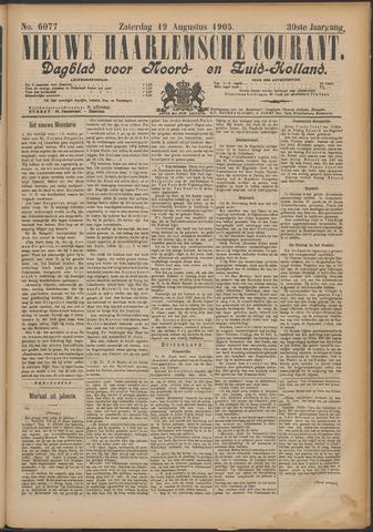 Nieuwe Haarlemsche Courant 1905-08-19
