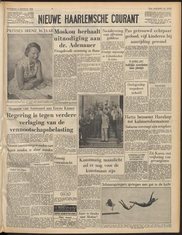 Nieuwe Haarlemsche Courant 1955-08-04