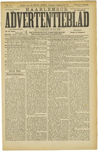 Haarlemsch Advertentieblad 1898-07-20