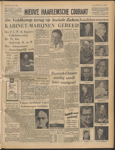 Nieuwe Haarlemsche Courant 1963-07-22