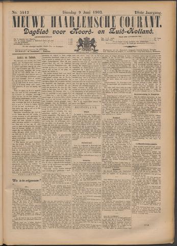 Nieuwe Haarlemsche Courant 1903-06-09