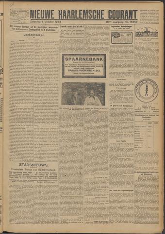 Nieuwe Haarlemsche Courant 1923-10-06