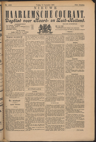 Nieuwe Haarlemsche Courant 1901-09-13