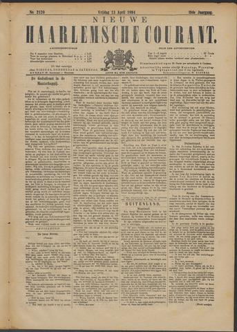 Nieuwe Haarlemsche Courant 1894-04-13